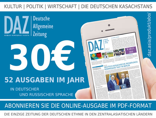 DAZ Werbe Block Abo 30Euro