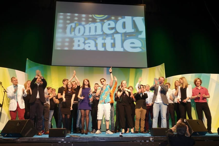Integration durch Comedy Festival in Karlsruhe